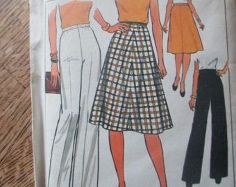 Simplicity Skirt and Pants size 37-44 waist