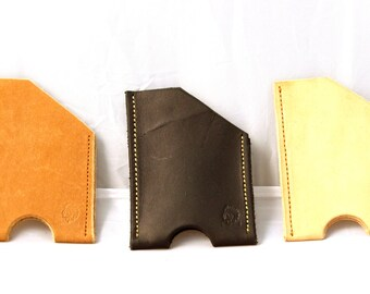 Leather Card Wallet - Gentleman Line