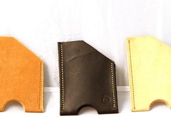 Leather Card Wallet - Gentleman Line