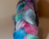 On Sale 100g Handpainted Merino/Silk Roving in Autumn Days Colourway