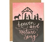 Heaven and Nature Sing Illustrated Card - Boxed Set//1canoe2