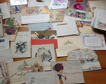 Lot of 50 + Antique Post Cards