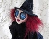 Ida Mistlewood - Gothic Victorian Witch Art Doll