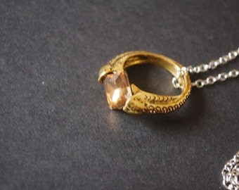 Harry Potter horcrux ring necklace