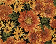 Mixed Bouquet Harvest fabric | Fall Fabric | Timeless Treasures Quilting cotton