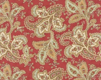 Quilting Cotton fabric   3 Sisters Larkspur   Rose Paisley 44101 16