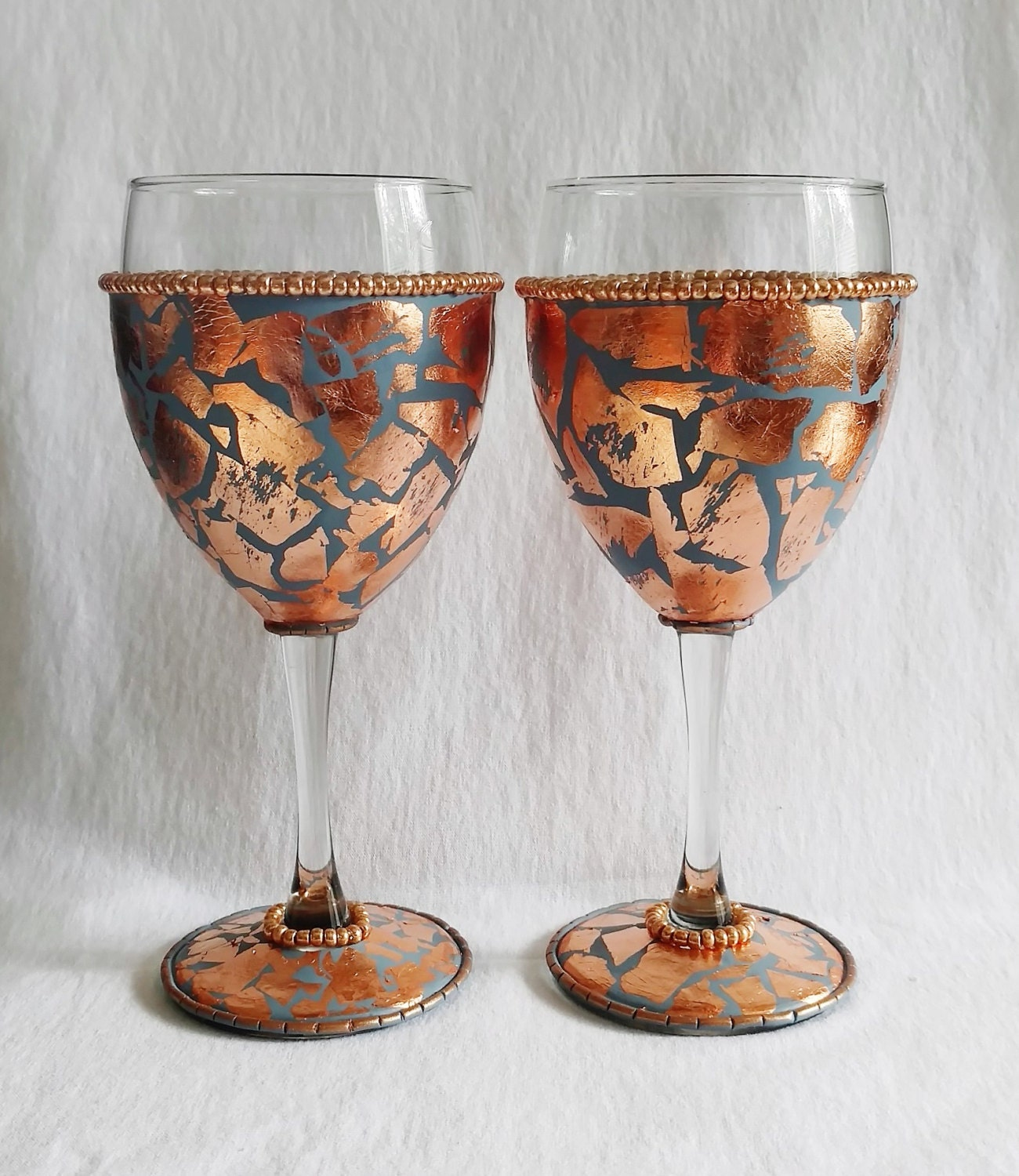 Decorative Wine Glasses Best Wine Glasses Decorated Wine
