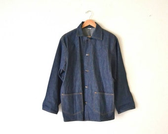 90's Blue Denim Chore Jacket