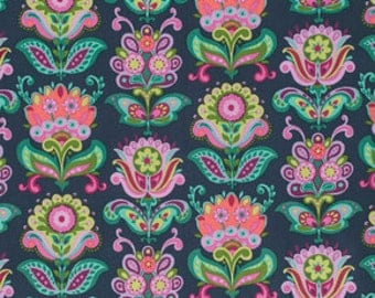 Amy Butler Bright Heart Folk Bloom PWAB146.MIBNI  100% Quilters Cotton Available in Yards, Half Yards and Fat Quarters