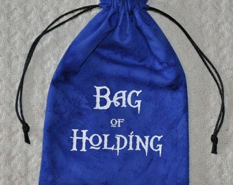 Glow in the Dark dice BAG of HOLDING