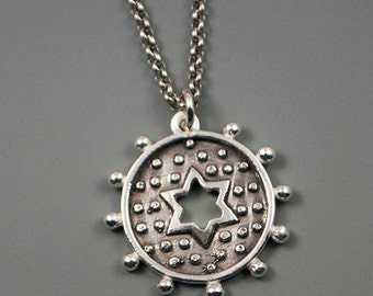 Dotted Star Necklace