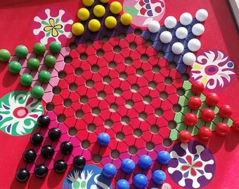 1966 Chinese Checkers game