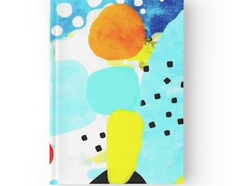 Hardcover Journal - Abstract Art Contemporary Modern Art