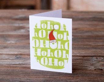 50% OFF Ho Ho Holiday Card