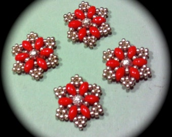 Petite Star Medallion Style Bead Work for your Crafting Needs  DIY supplies, bead work, Crafting supplies native boho tribal ethnic