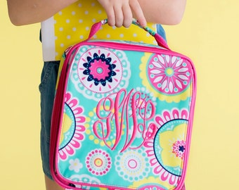 Piper Lunch Bag-includes Monogram-Insulated Lunch Bag-Insulated Cooler-Lunch Box