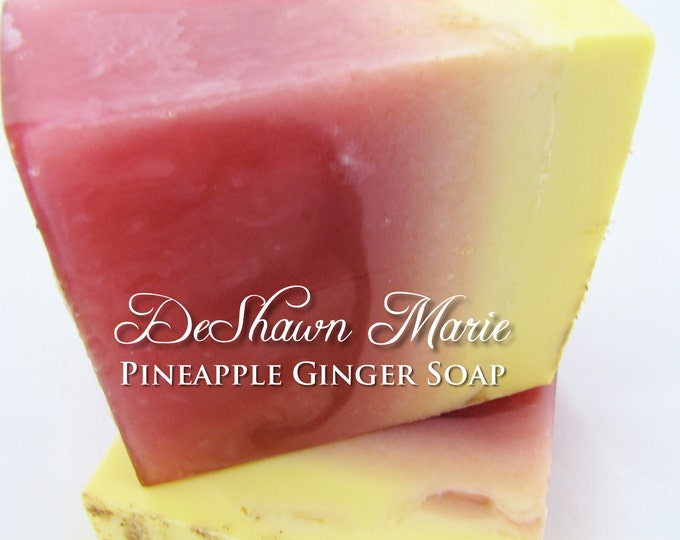 Pineapple Ginger Handmade Soap