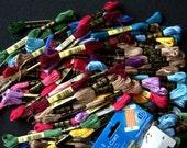 DMC Embroidery Floss Lot - 81 skeins - Destash