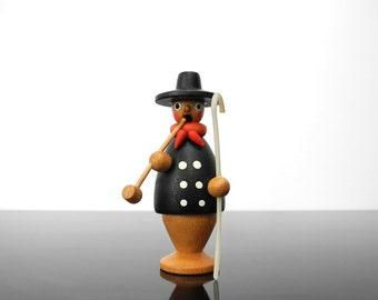 Little Incense Smoker / Pipe man / journeyman / craftsman / Erzgebirge / Germany / Vintage