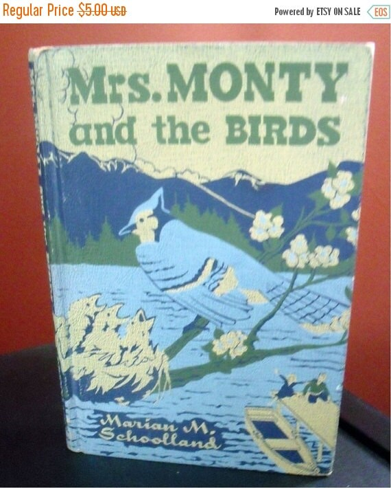 Mrs. Monty and the Birds - 1946 - First Edition - Bird stories - Very good condition
