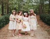 Vintage Inspired Bridesmaids Dresses