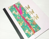 Elastic banded planner pencil pouch - Priory Square