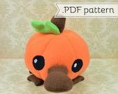 Platypumpkin (Platypus Pumpkin) .pdf Sewing Pattern
