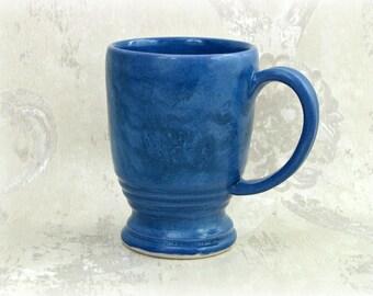 Mottled Blue Mug
