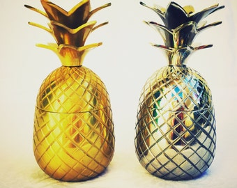 Brass Pineapple Candle Holders Steel Pineapple. Handmade Candle