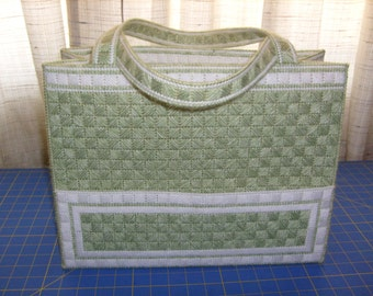 Handsome Green Tote