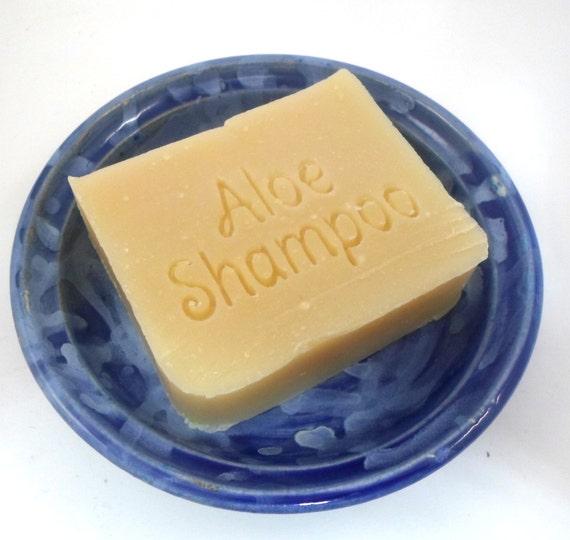 Sesame Aloe Vera Shampoo Bar ON SALE - Formulated for Thin Hair, Sensitive, Dry Flaky Scalp - New vegan formula available