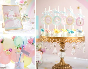 Magical Unicorn Party Collection - DIY