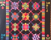 Spring Sale Be Bold Amish inspired quilt