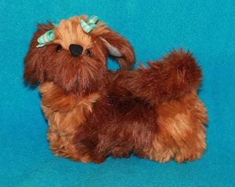 Buttercup a fluffy Mohair Puppy