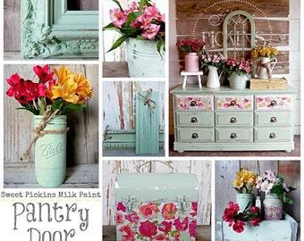 Pantry Door - Sweet Pickins Milk Paint