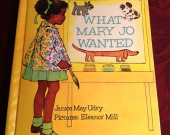 Vintage--1973--Book--What Mary Jo Wanted--By Janice May Udry--