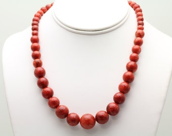 Sponge Coral Necklace. Listing 469105526