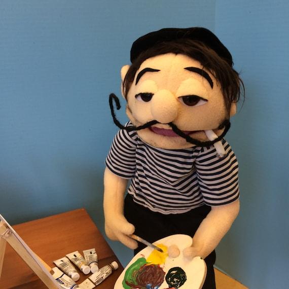 Lunas Puppets  Custom Handmade Monster amp Muppet Style