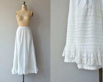 My Antonia skirt | antique 1910s skirt | white lace cotton Edwardian skirt