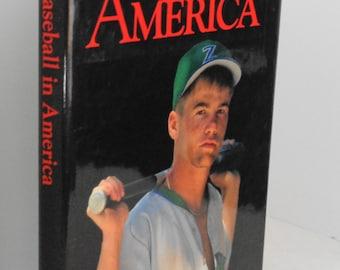 Baseball in America Book Vintage Sports