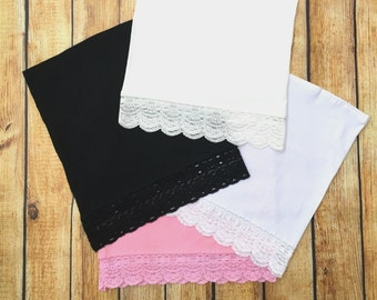 Lot of 4 New Lace trimmed Maternity Belly Band/Bella  Nursing Cover Any Size Small- XXXL