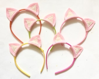 Pig Party Headband Pack, Photo Booth Props, Pig Ears