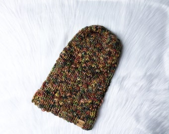 Knit cable slouchy hat, knit hat, knit cable hat, hat, women hat