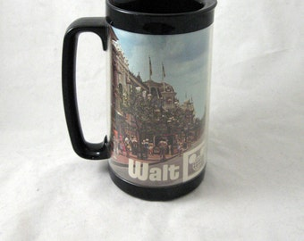 Meet Me on Main St - vintage early 1970s Walt Disney World mug