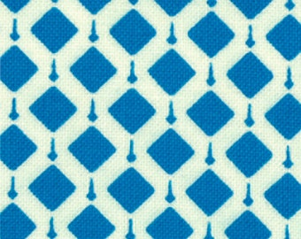 Summer House 3/4 yards Remnant 11448-18 Blue