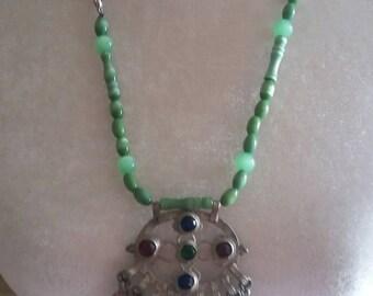 Kuchi Dangle Necklace Protection Necklace Boho Necklace
