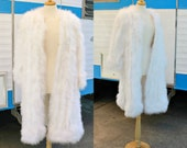 RESERVED FOR AWP0522 - Please do not purchase this listing! MARABOU Long Flapper Coat Size Small