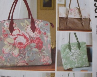 McCalls Fashion Accessories by Laura Ashley M4531 (uncut) Business Bags