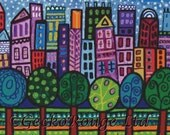 Modern cross stitch kit 'NYC' by Heather Galler - New York City Counted Cross Stitch, DMC Materials