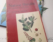 2 Vintage Books * 1960's Plant Books * Audubon Society * Plates and Stamps * Native Plants Trees and Shrubs *  University of California *